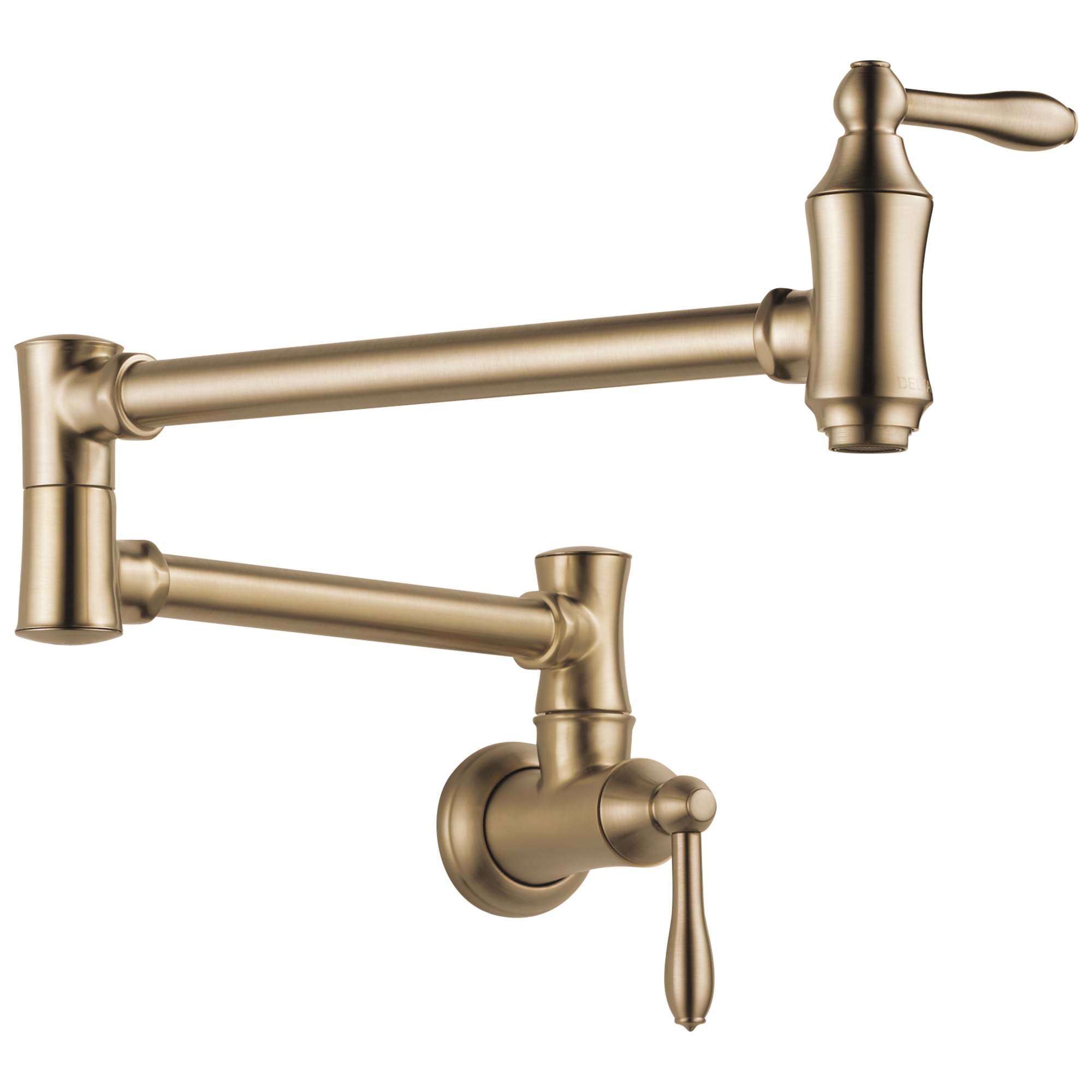 Delta 1177LF-CZ Traditional Wall Mount Pot Filler