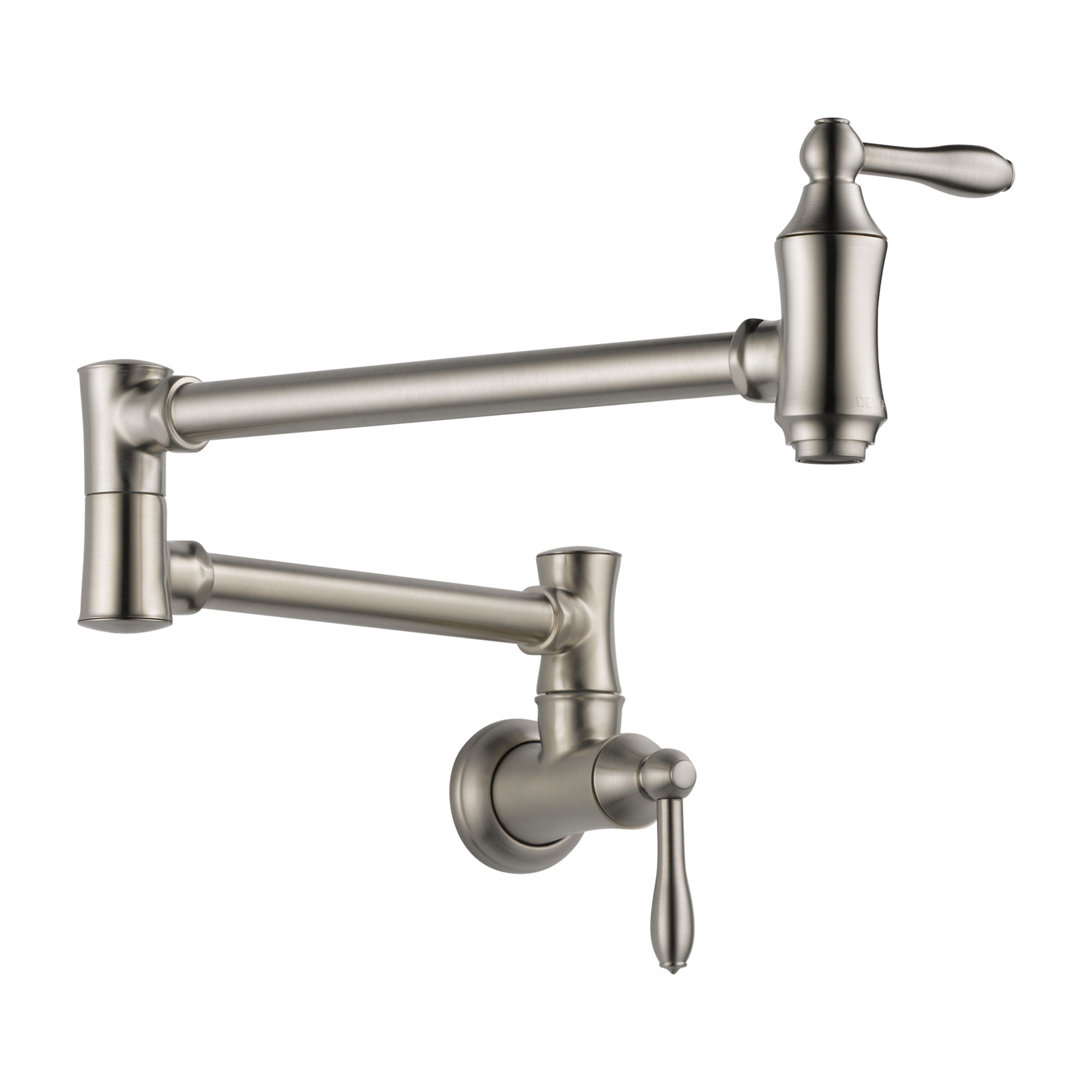 Delta 1177LF-SS Traditional Wall Mount Pot Filler