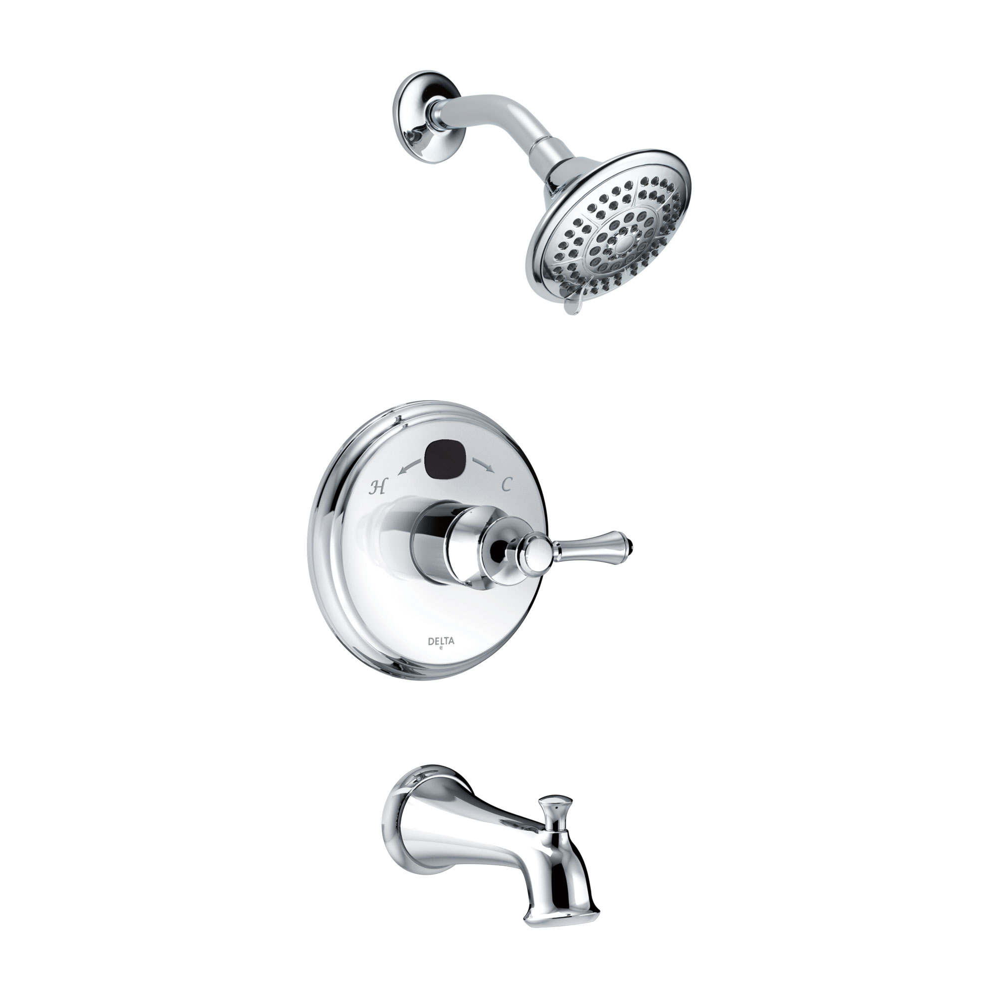 Delta 144984-T2O MultiChoice® 14 Series Temp2O® Tub & Shower