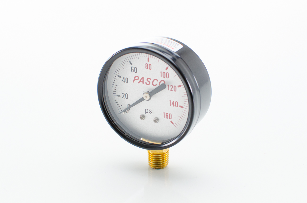 Pasco 1742 160 PSI Pressure Gauge 2.5""