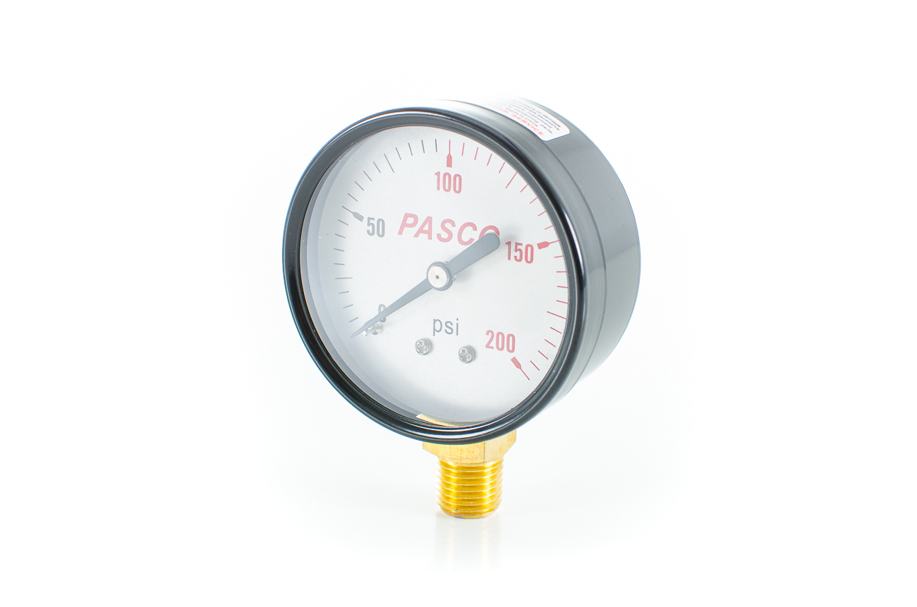 Pasco 1743 200 PSI Pressure Gauge 2.5""