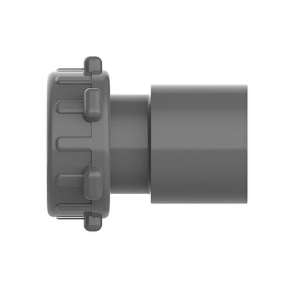 1 inch Female Buttress x 1 1/2 inch Spigot or 1 inch Slip Adapter