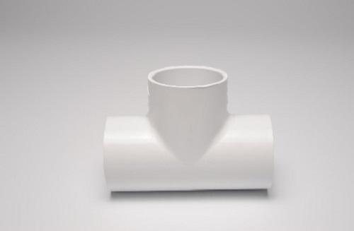 1/2 Inch x 3/4 Inch Sch 40 PVC Slip Tee