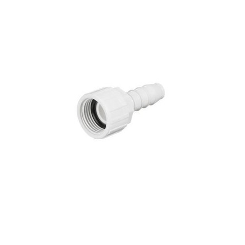 "3/4"" FHT Swivel x 3/4"" Insert PVC Hose Fitting"