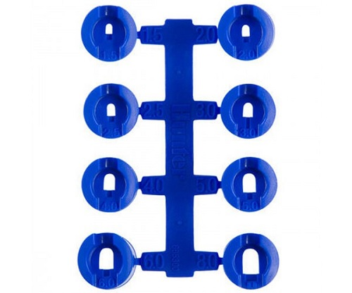 Blue Rotor Sprinkler Nozzle Set