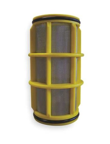 1 155MESH SS SCREEN- YELLOW