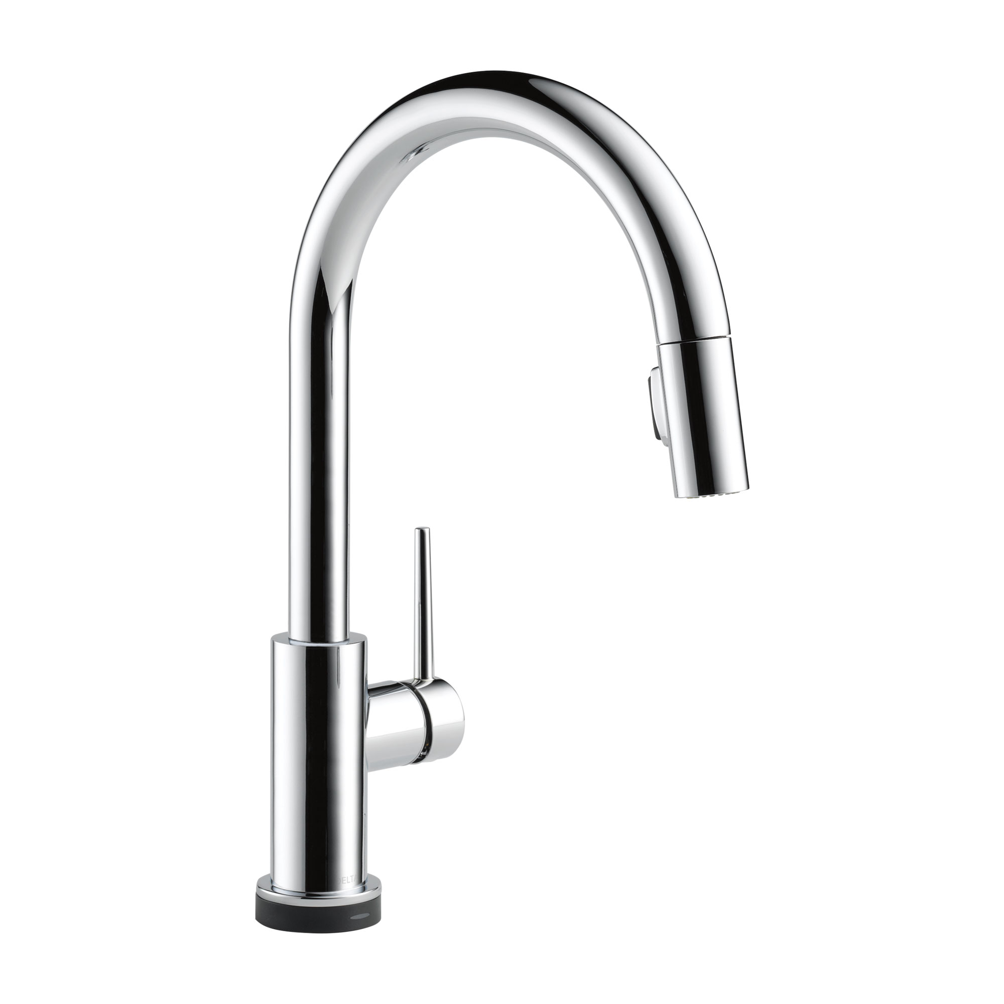 Delta 9159T-DST Trinsic Single Handle Pull-Down Kitchen Faucet with Touch2O® Technology