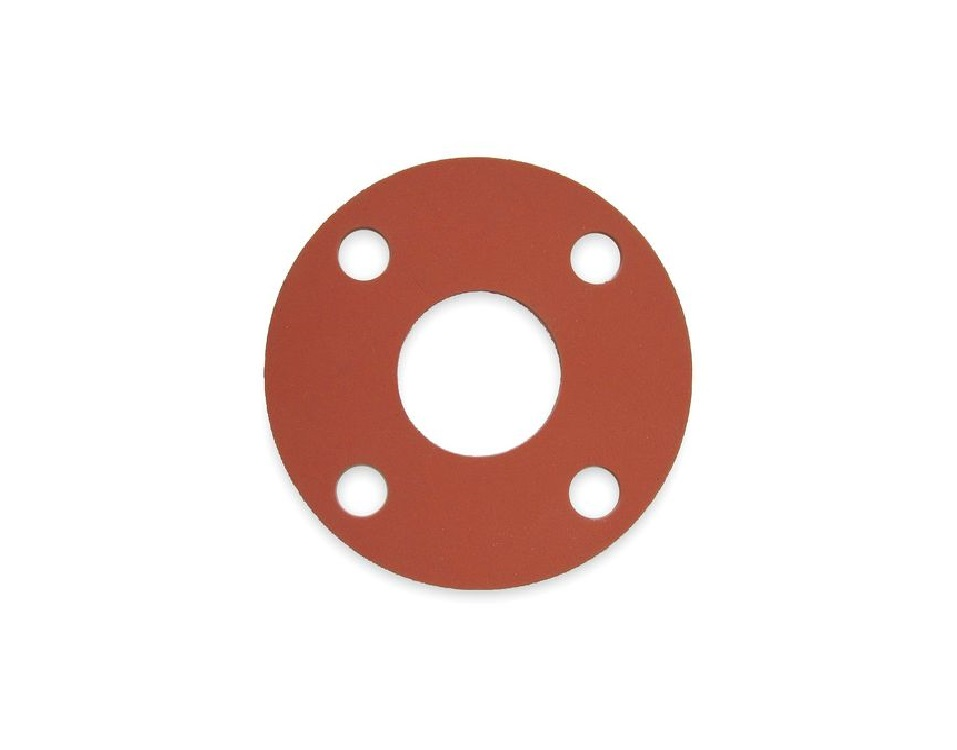 12 FULL FACE FLG GASKET RED