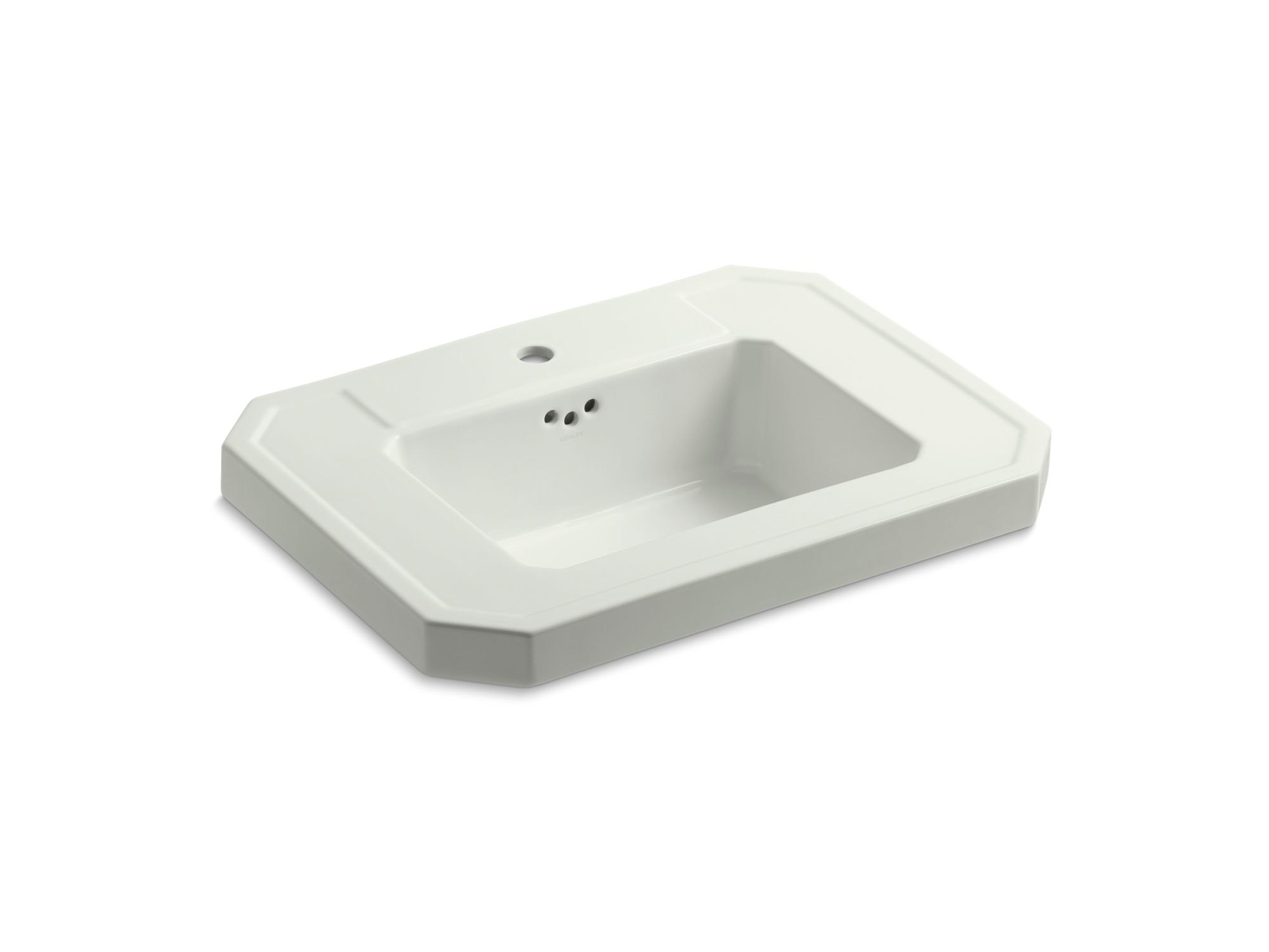 Kohler Kathryn® K-2323-1-NY Bathroom sink basin with single faucet hole Dune