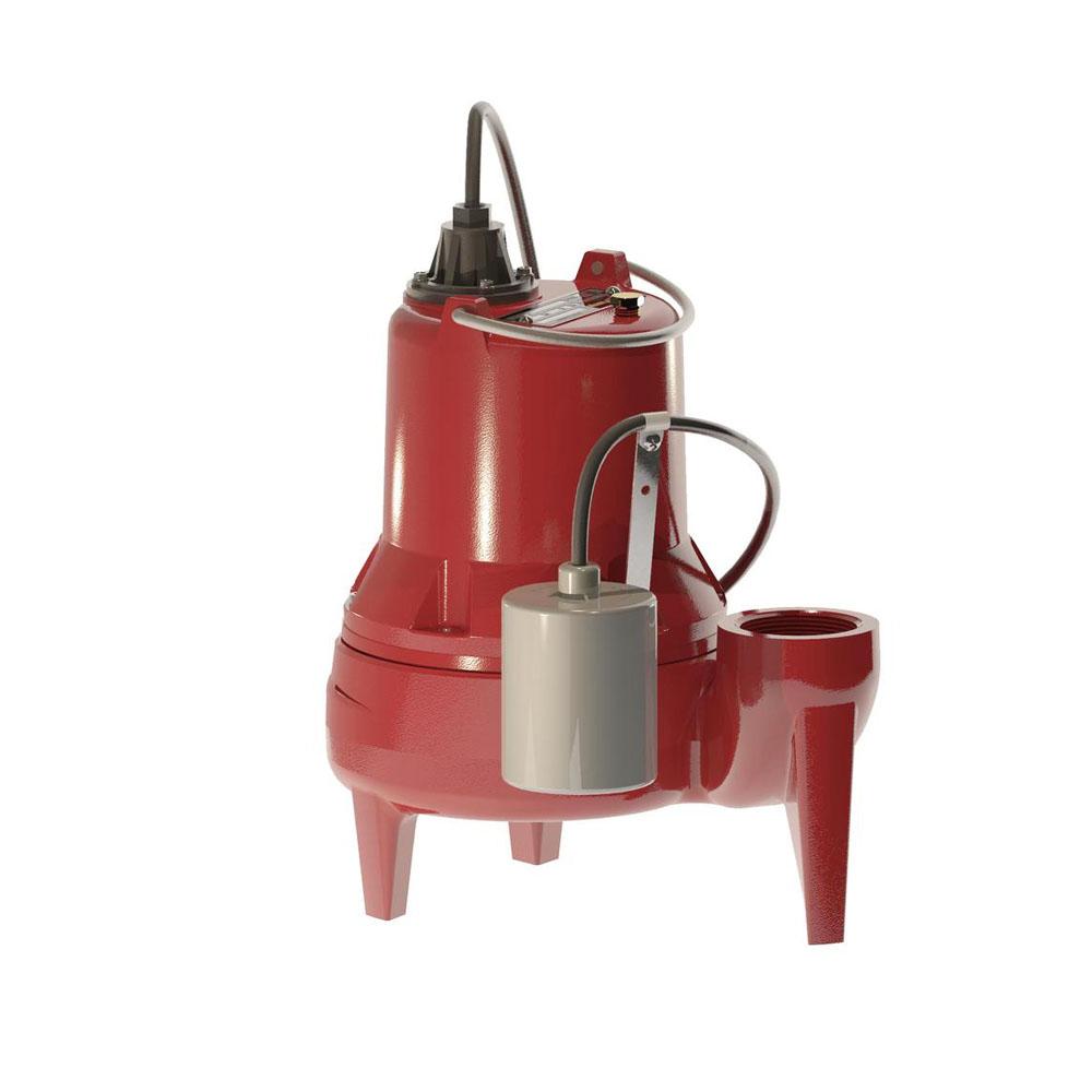 LE51A 1/2 Horsepower Submersible Sewage Pump