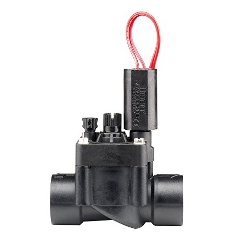 "Hunter PGV 1"" Plastic Globe Valve With Flow Control Slip"