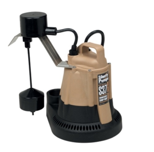 S37 1/3 Horsepower Submersible Sump Pump