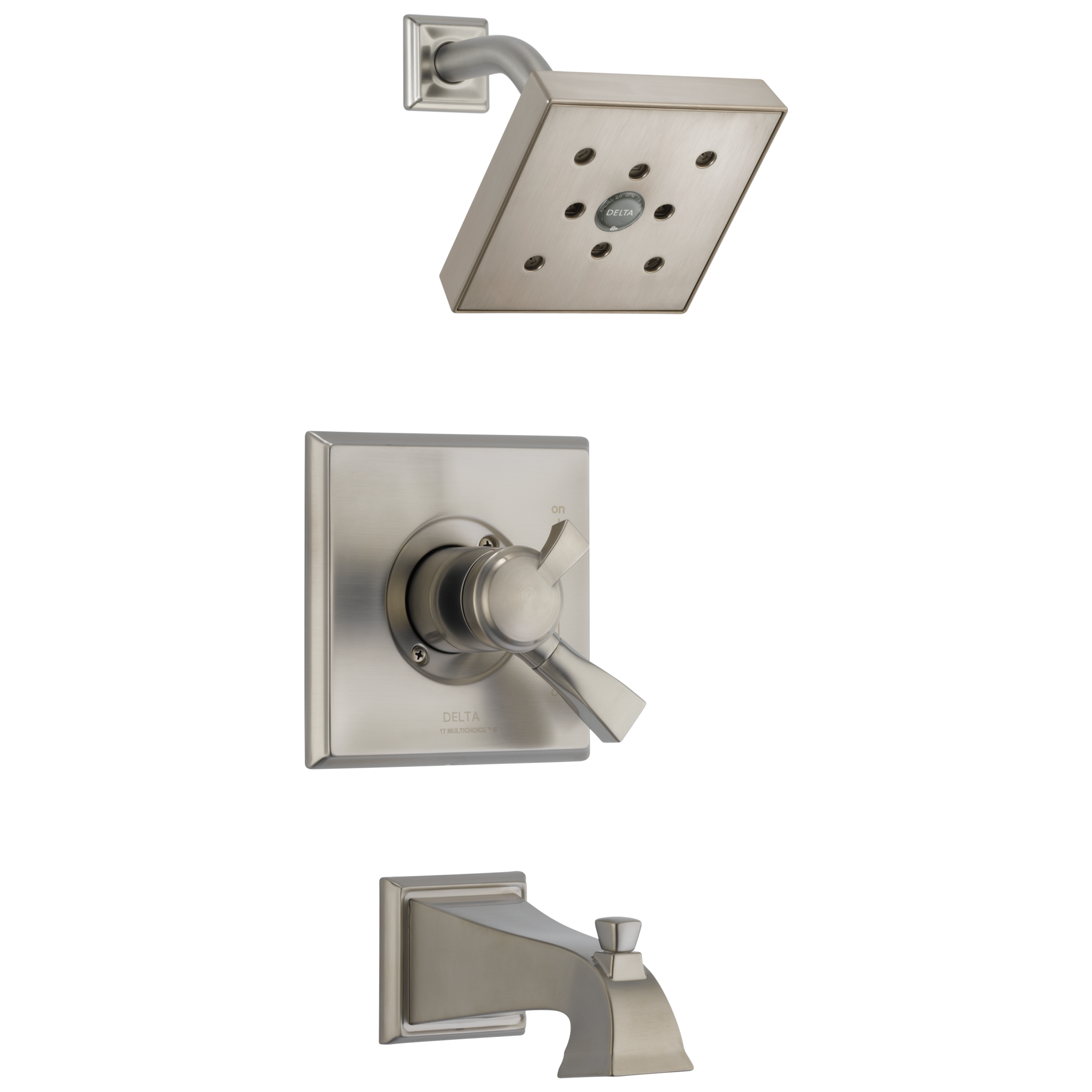 Delta T17451-SSH2O Dryden Monitor® 17 Series H2Okinetic® Tub & Shower Trim