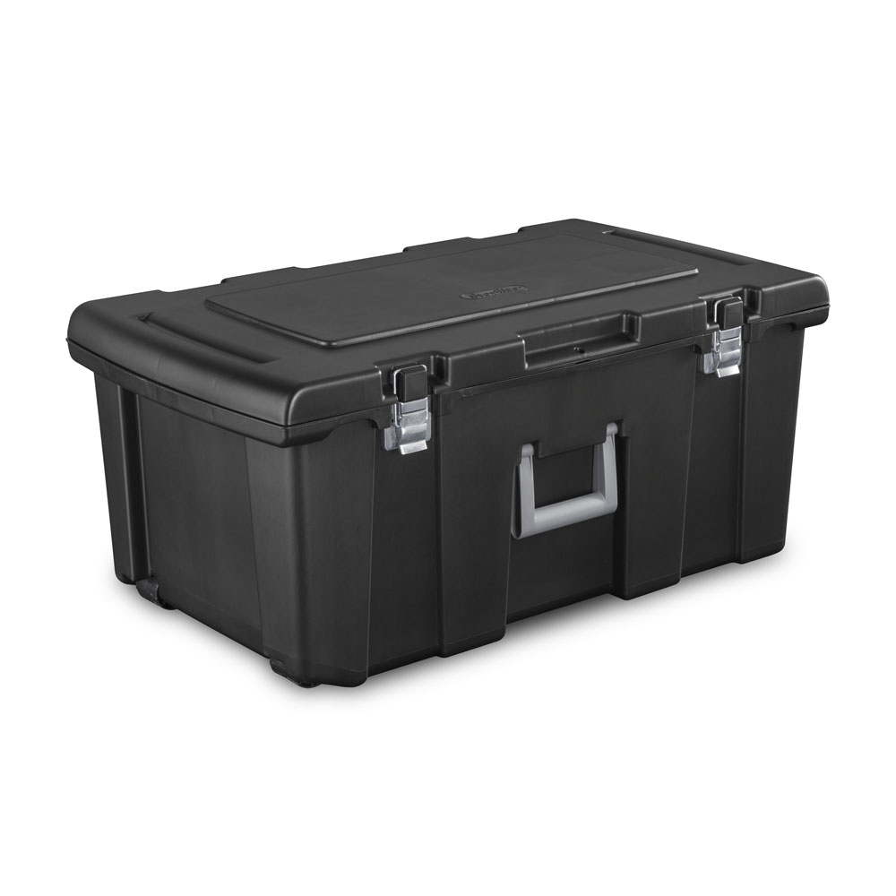 Sterilite Wheeled FootLocker, 92-Qt. Capacity