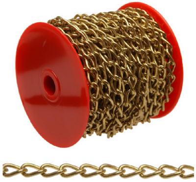49' BRS PLT Twist Chain