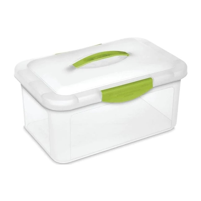 Sterlite Showoffs Medium Clear Latched Storage Box