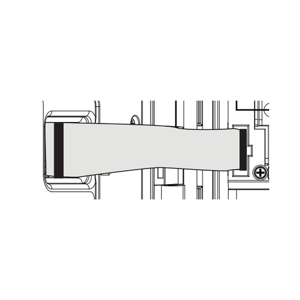 I-Core Commercial Sprinkler Controller Plastic Cabinet Ribbon Cable