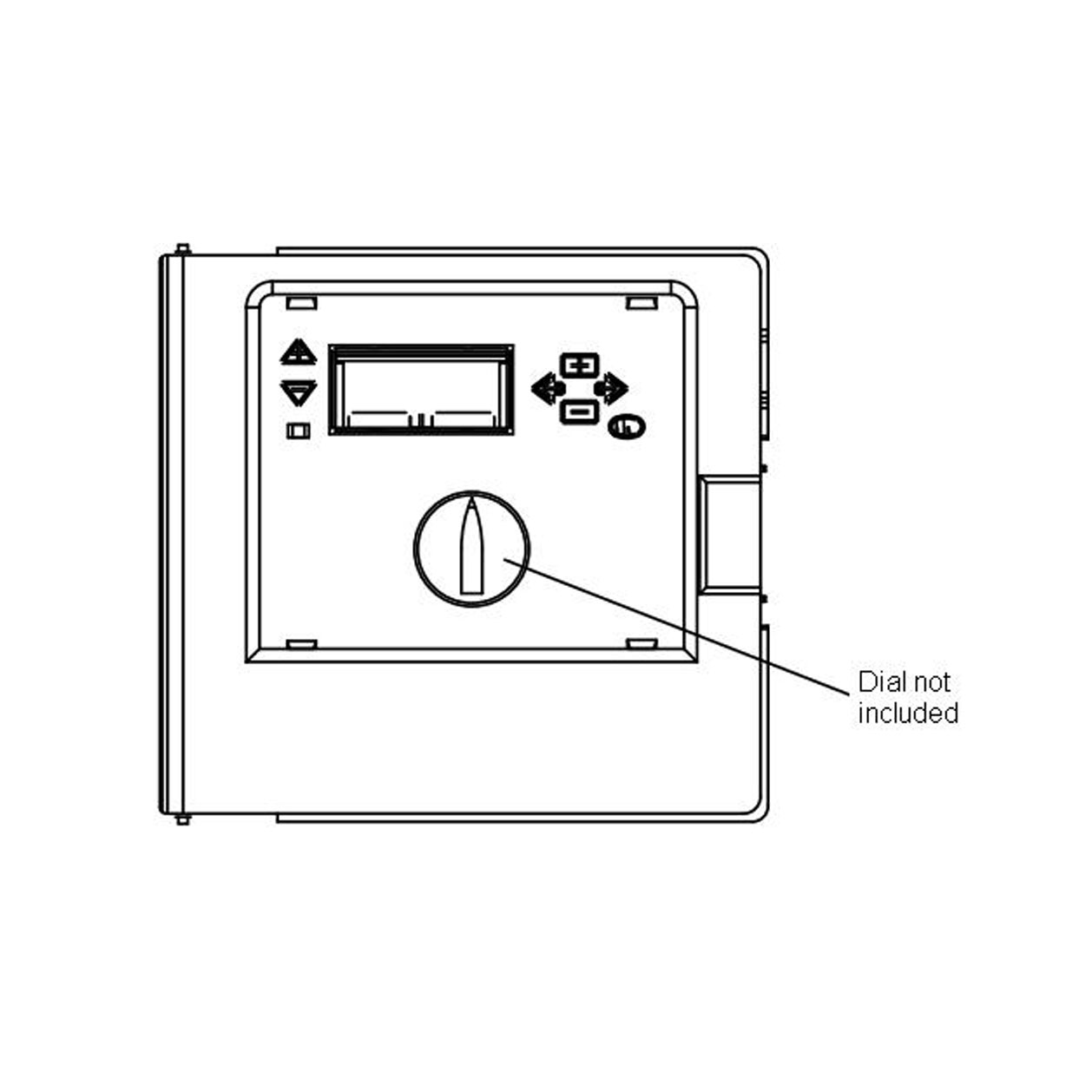 Front Panel for ICC Controller