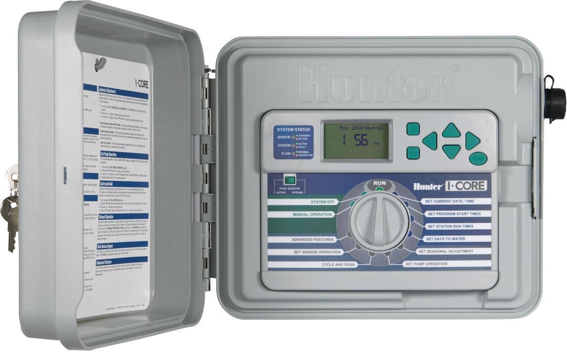 I-Core Dual 48-Station Controller for Sprinkler Base Model with Plastic Pedestal