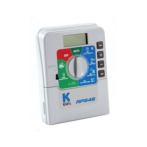 K-Rain RPS 46 4-Station 60 Hz Mini Controller with Plug Pack, 110-volt