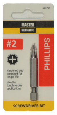DISSTON COMPANY 504761 #2 Phil Screw Bit