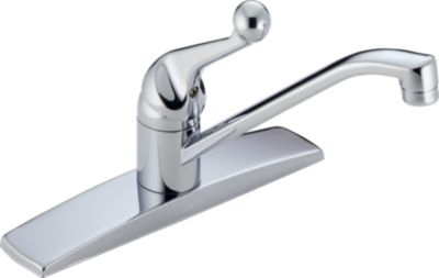 Single Handle Kitchen Faucet (Valve and Shower Head Sold Separately)