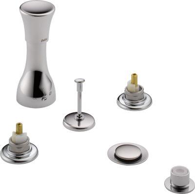 Bidet Faucet - Less Handles (Handles Sold Separately)