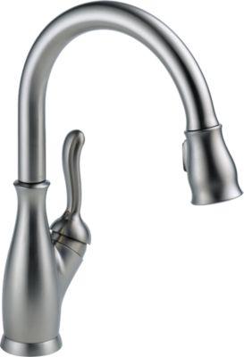 Leland®Single Handle Pull-Down Kitchen Faucet