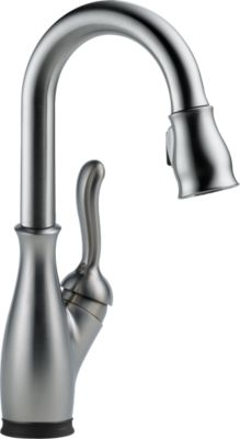 Leland®Single Handle Pull-Down Bar / Prep Faucet with Touch2O® Technology