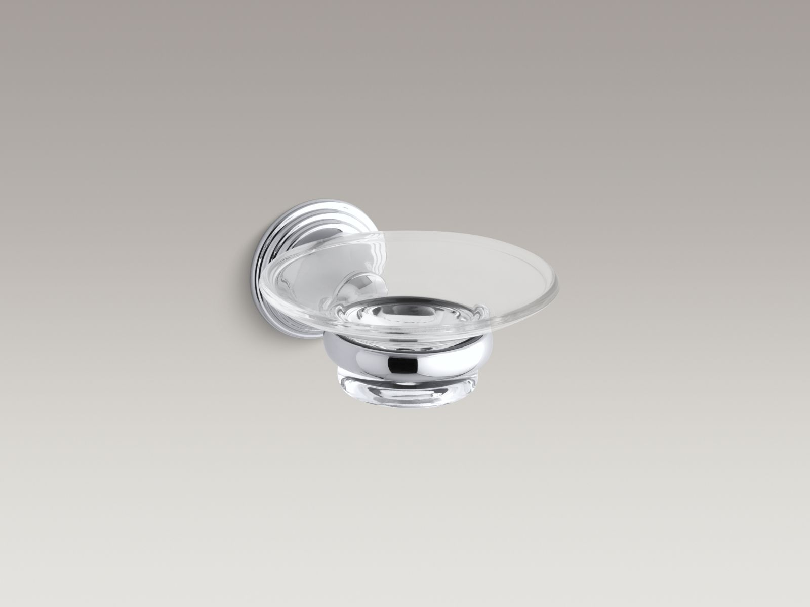 Kohler K-10560-CP Devonshire Wall-mounted Soap Dish Polished Chrome