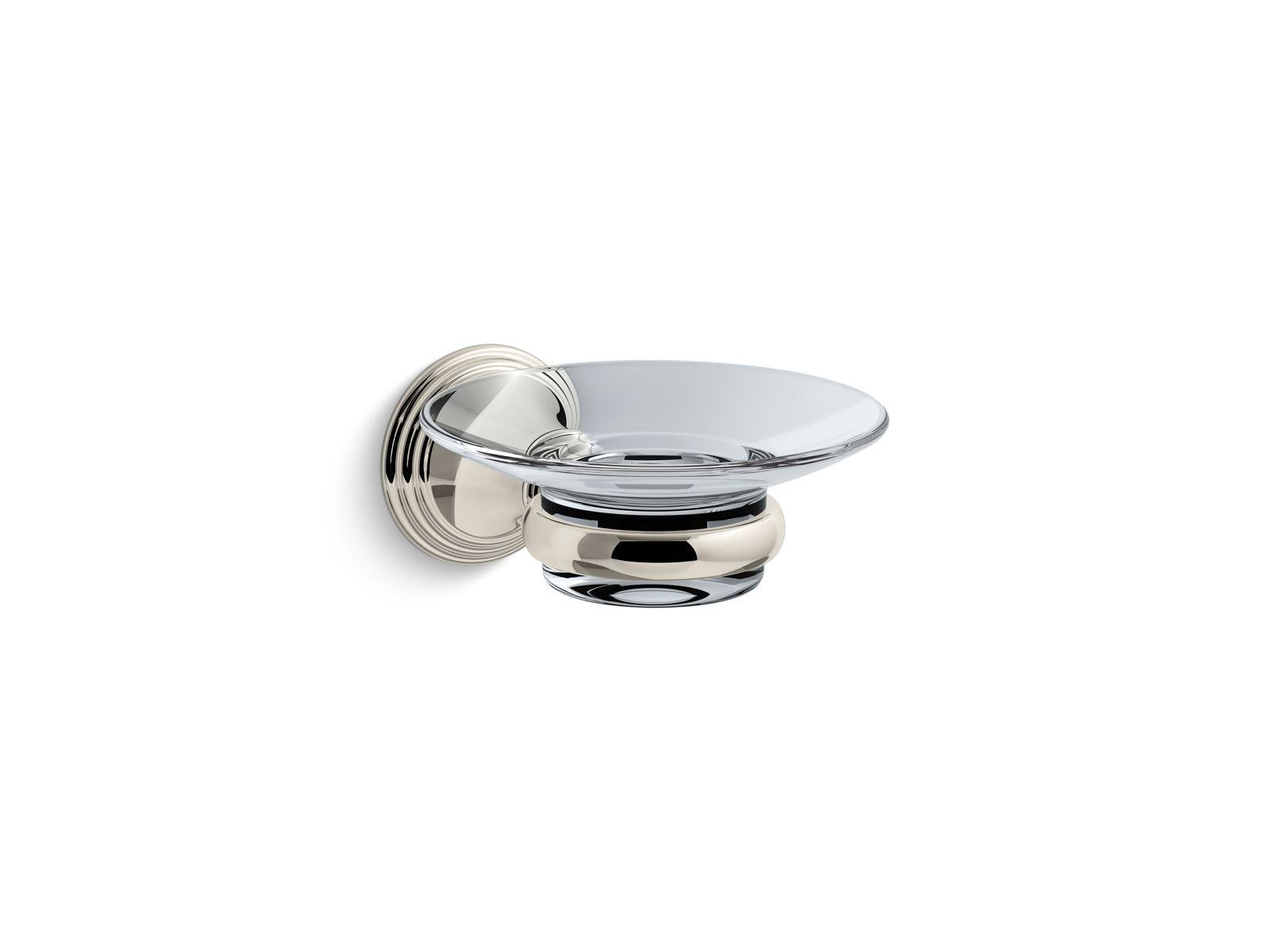 Kohler Devonshire® K-10560-SN Soap dish Vibrant Polished Nickel