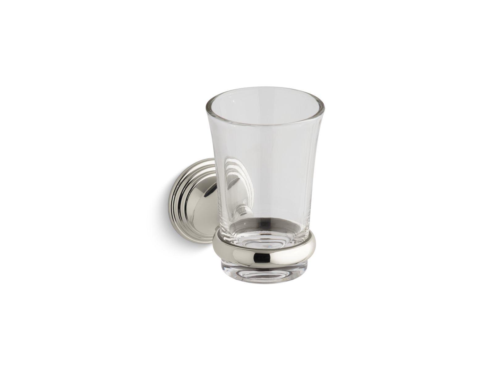 Kohler Devonshire® K-10561-SN Tumbler and holder Vibrant Polished Nickel