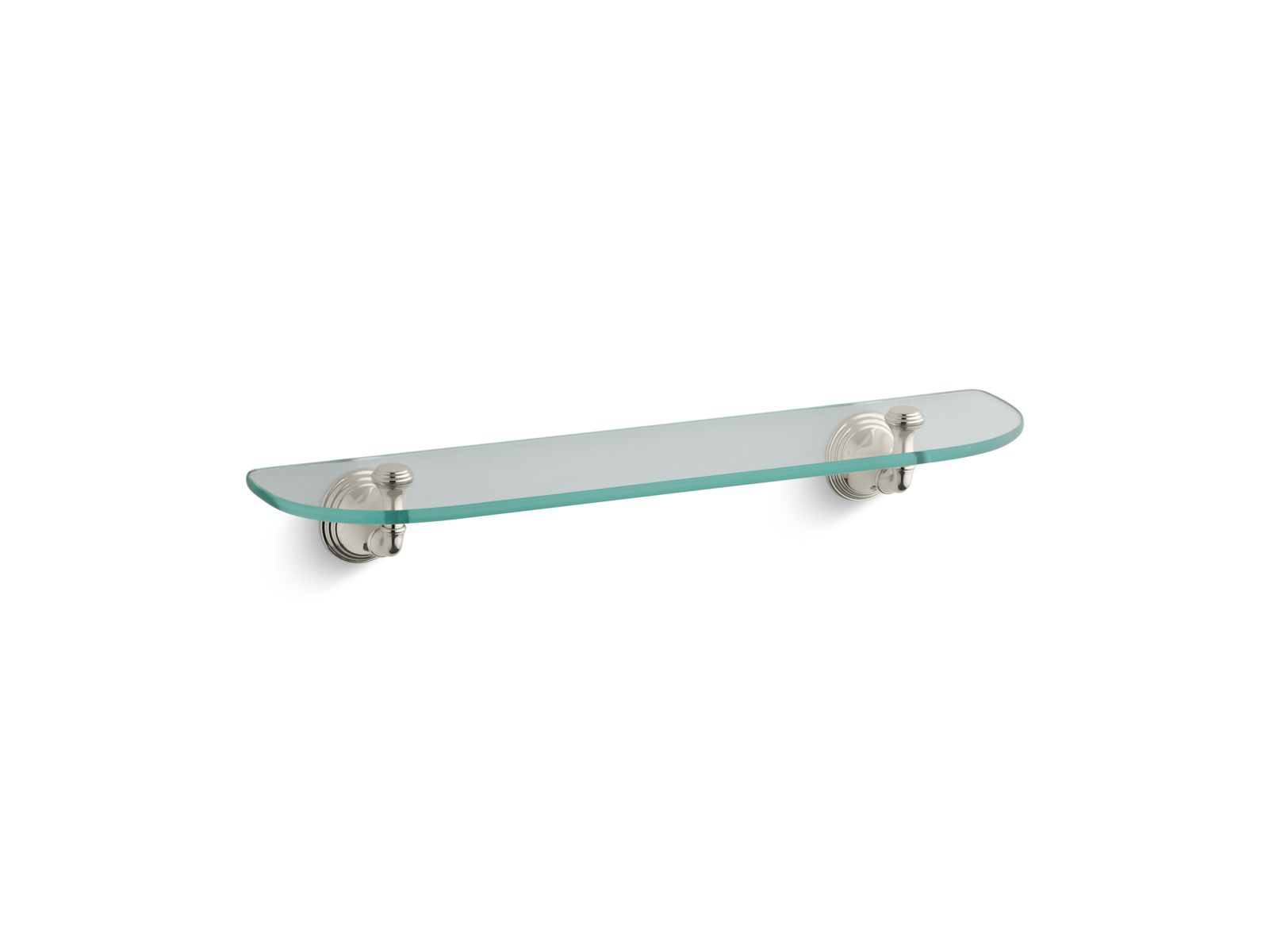 Kohler Devonshire® K-10563-SN Glass shelf Vibrant Polished Nickel