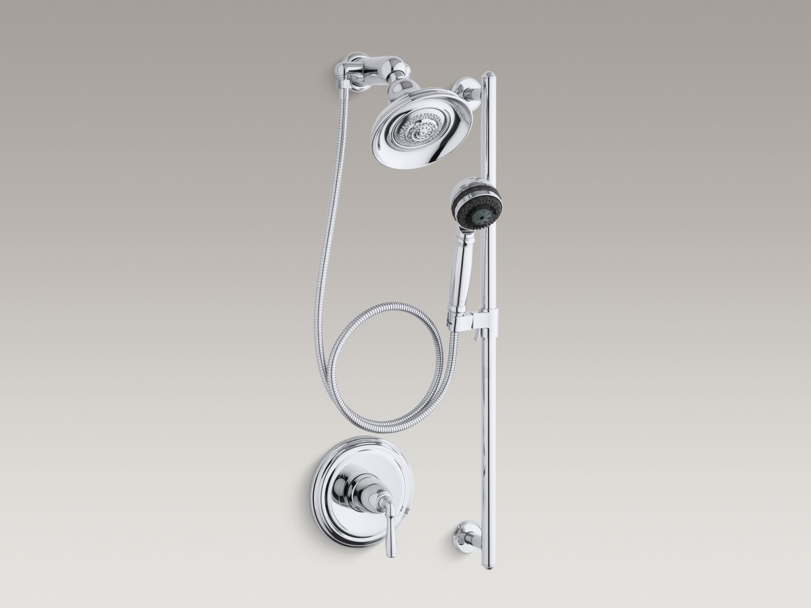 Kohler K-10825-4-CP Devonshire Essentials Performance Showering Package Polished Chrome