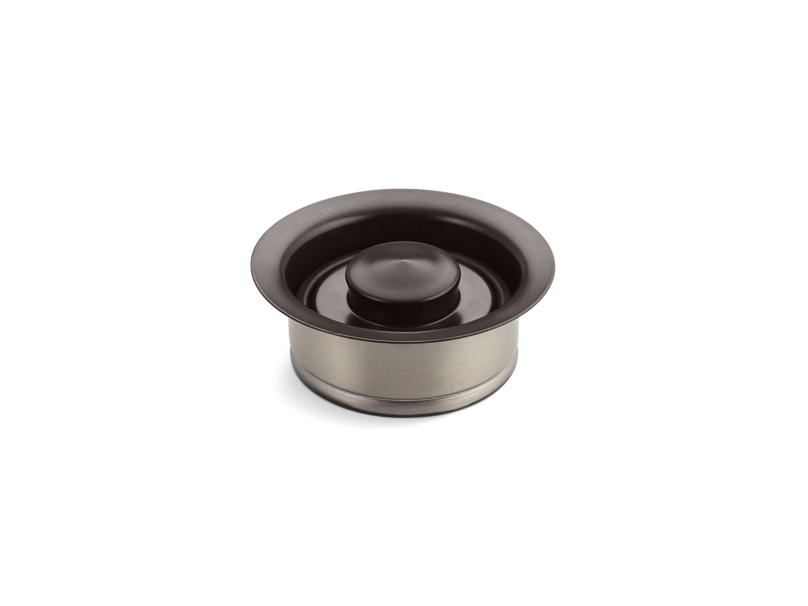 Kohler K-11352-2BZ Garbage Disposal Flange with Stopper Oil Rubbed Bronze