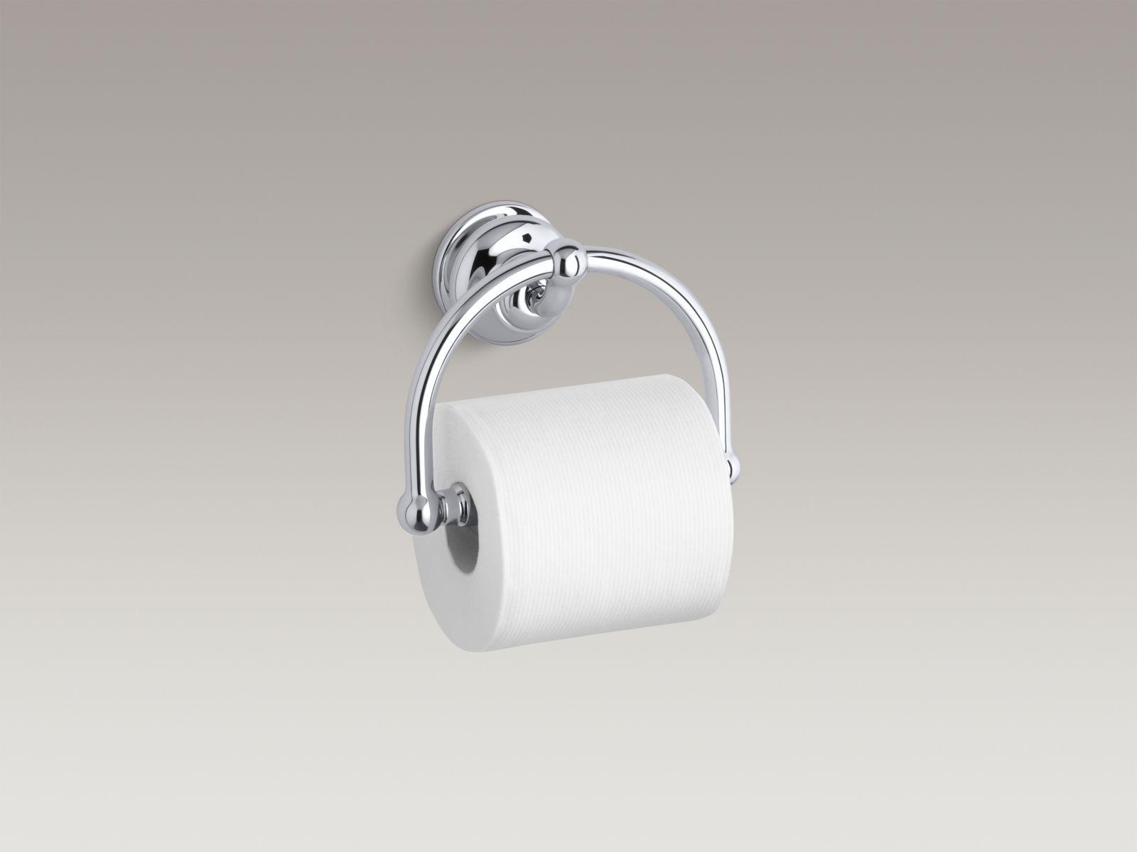 Kohler K-12157-CP Fairfax Toilet Paper Holder Polished Chrome
