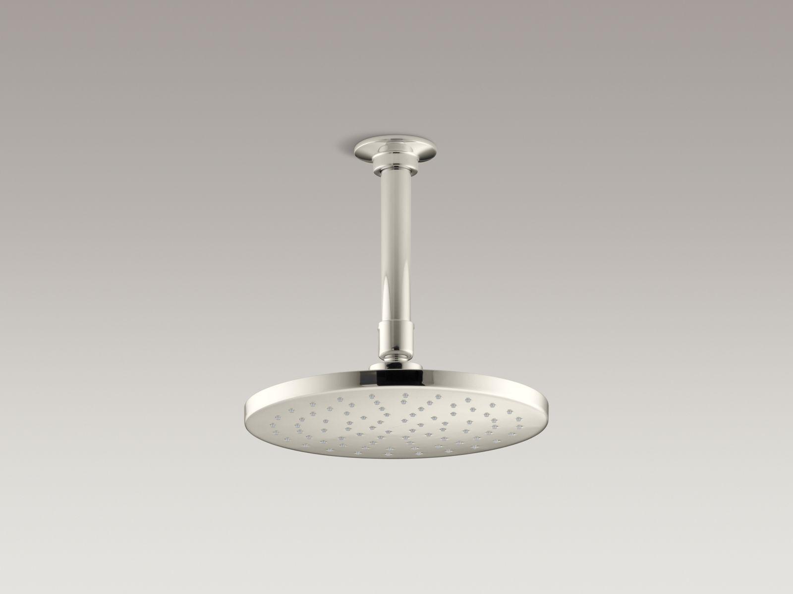 Kohler K-13688-SN 8 In. Contemporary Round Rain Showerhead Vibrant Polished Nickel