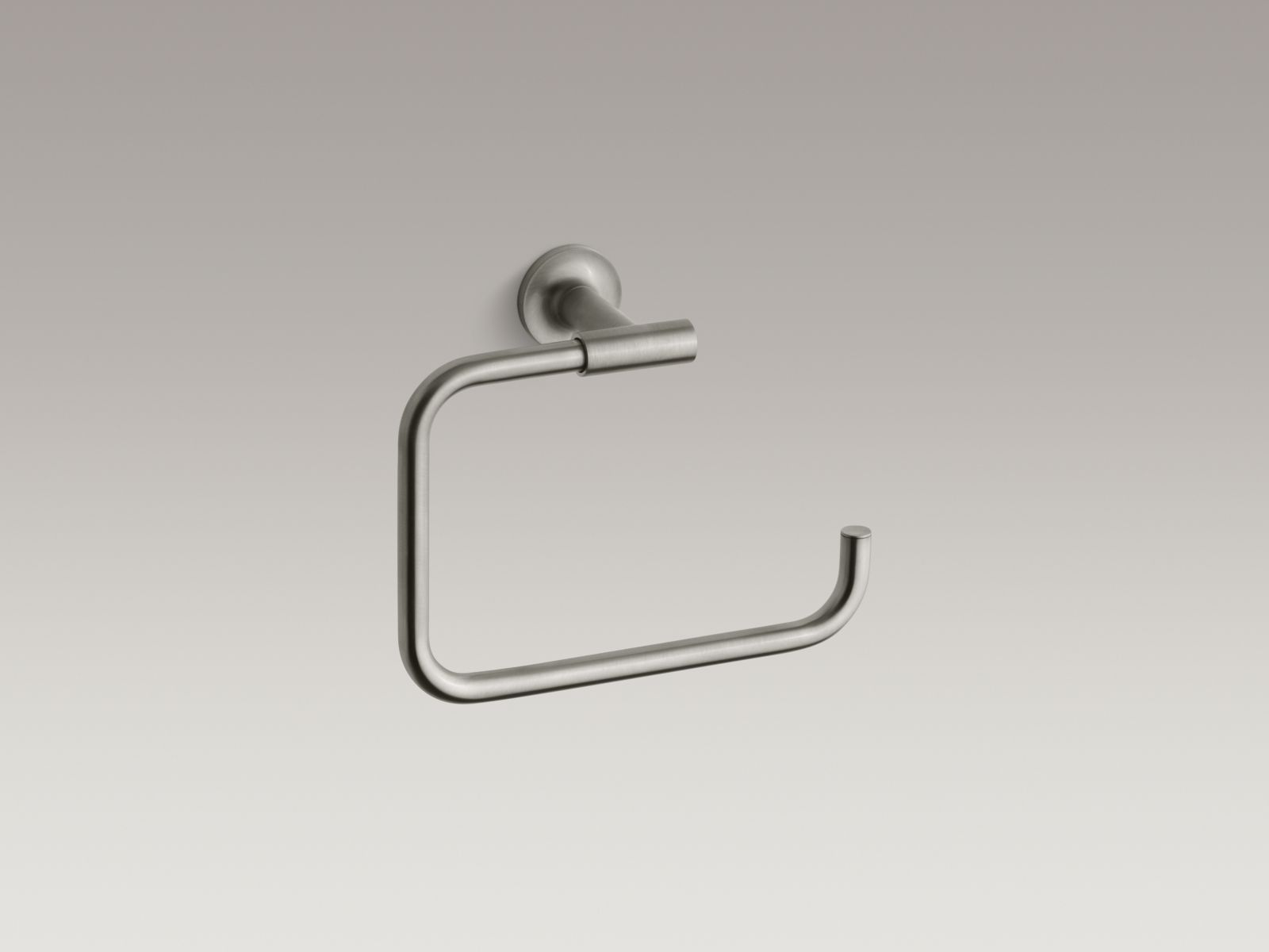 Kohler K-14441-BN Purist Towel Ring Brushed Nickel