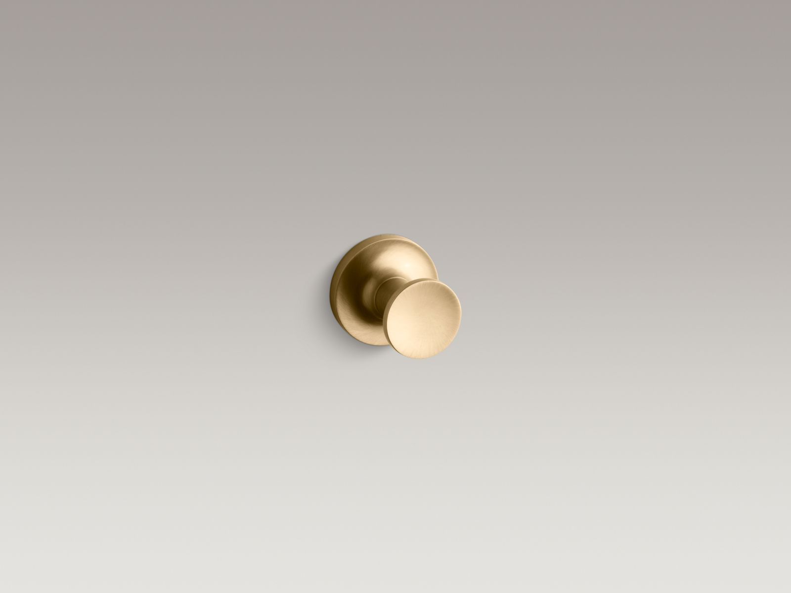 Kohler K-14443-BGD Purist Robe Hook Vibrant Moderne Brushed Gold