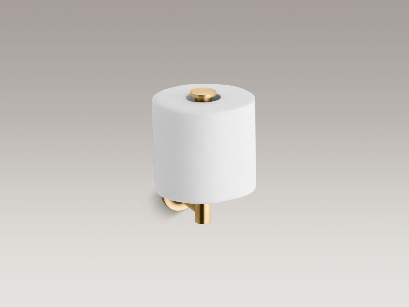 Kohler K-14444-BGD Purist Toilet Tissue Holder Vibrant Moderne Brushed Gold