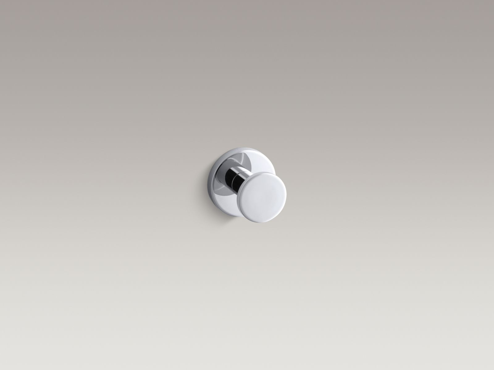 Kohler K-14458-CP Stillness Robe Hook Polished Chrome