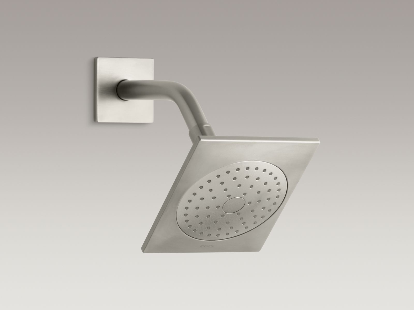 Kohler K-14786-BN Loure Single-Function Showerhead Vibrant Brushed Nickel