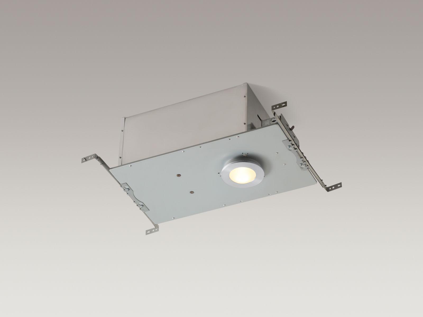 Kohler K-1665-G In-shower Ceiling Light Brushed Chrome