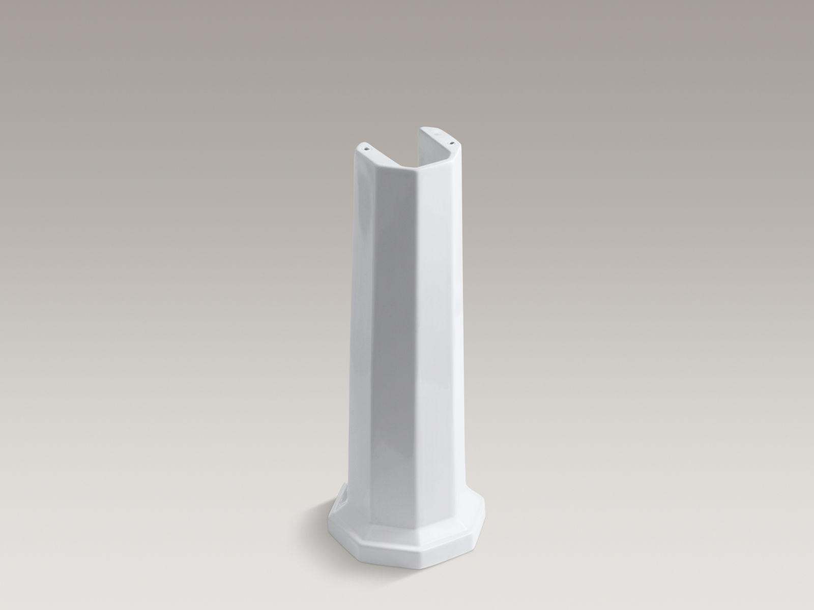 Kohler K-2324-0 Kathryn Pedestal Leg White