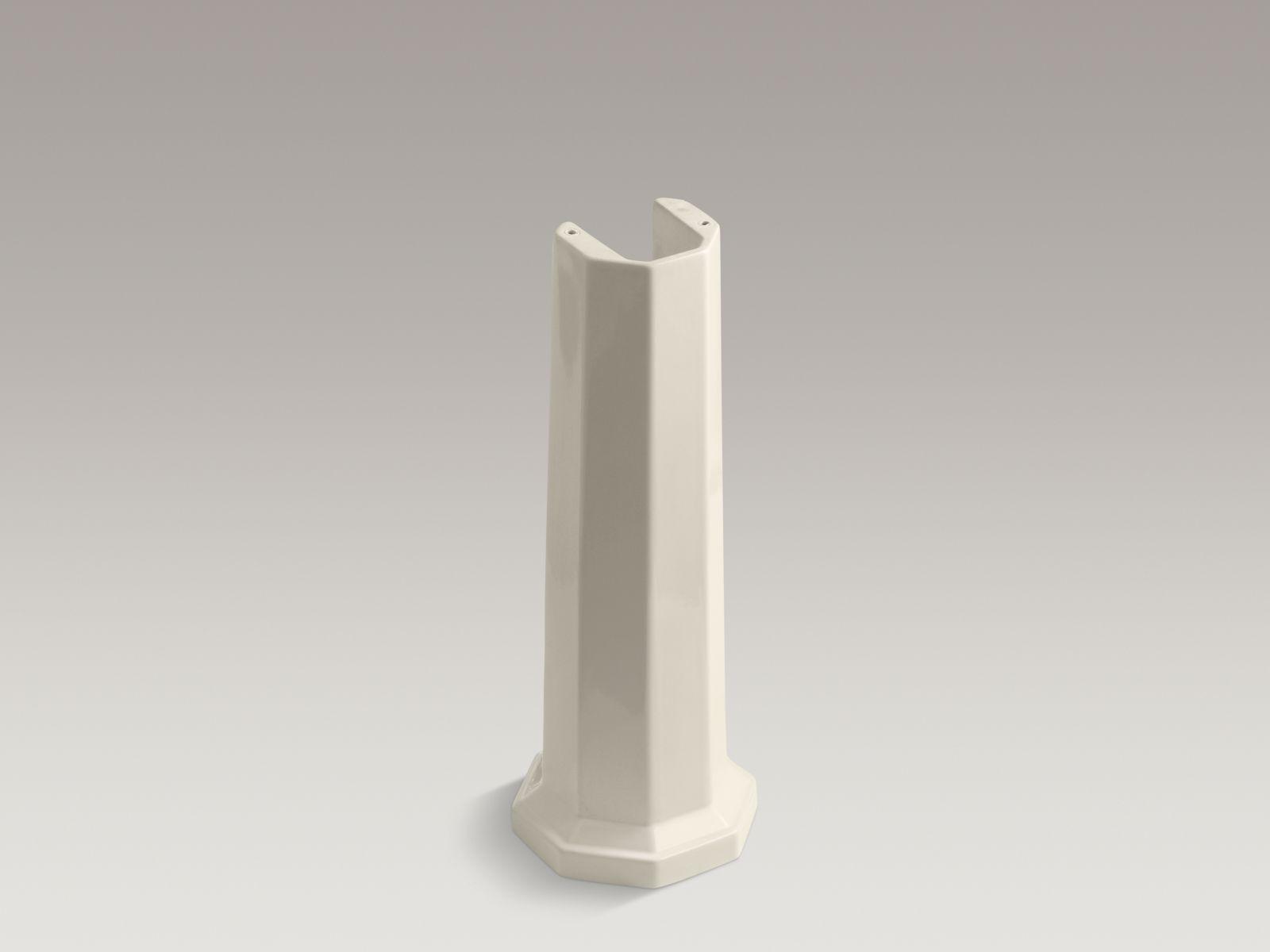 Kohler K-2324-47 Kathryn Lavatory Pedestal Almond