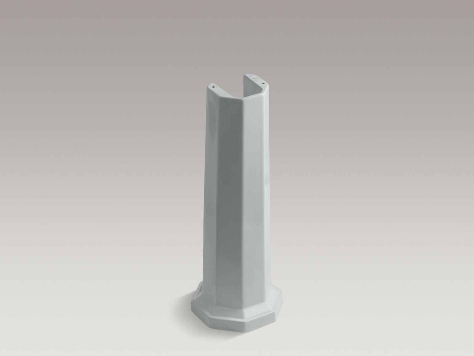 Kohler K-2324-95 Kathryn Lavatory Pedestal Ice Grey