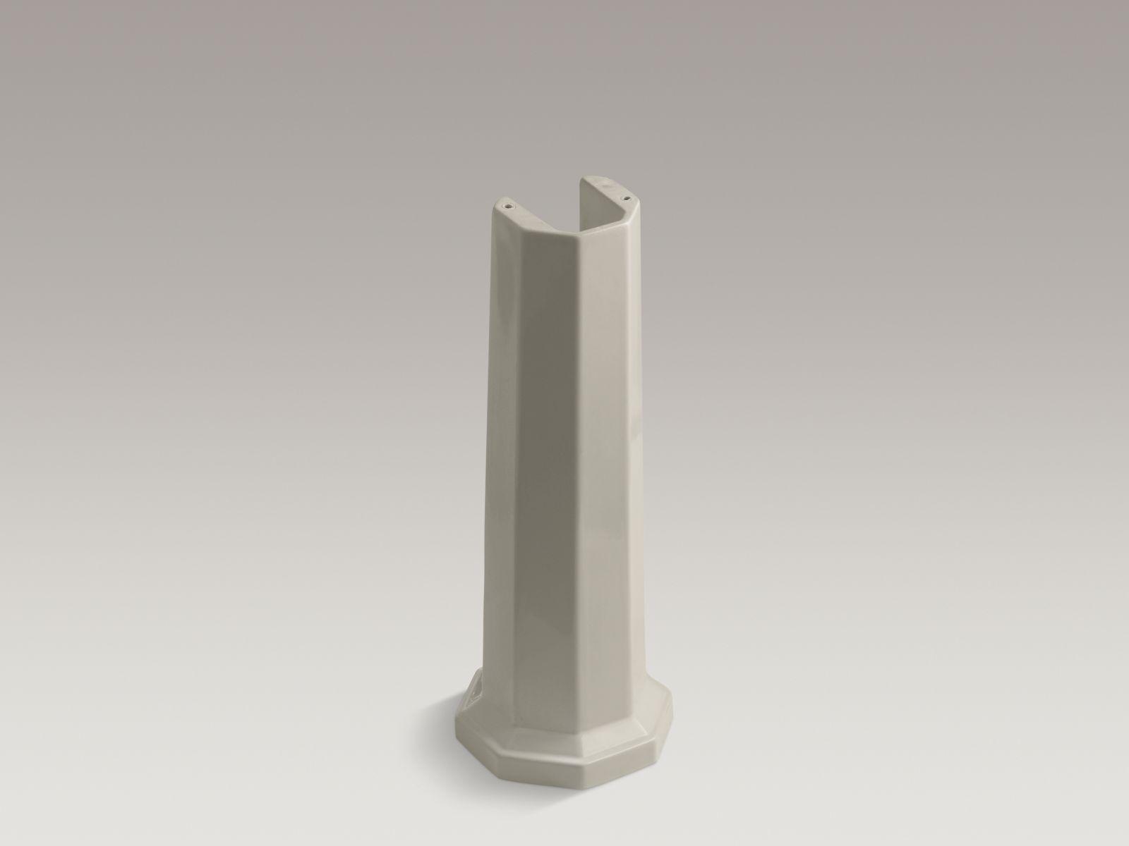Kohler K-2324-G9 Kathryn Lavatory Pedestal Sandbar