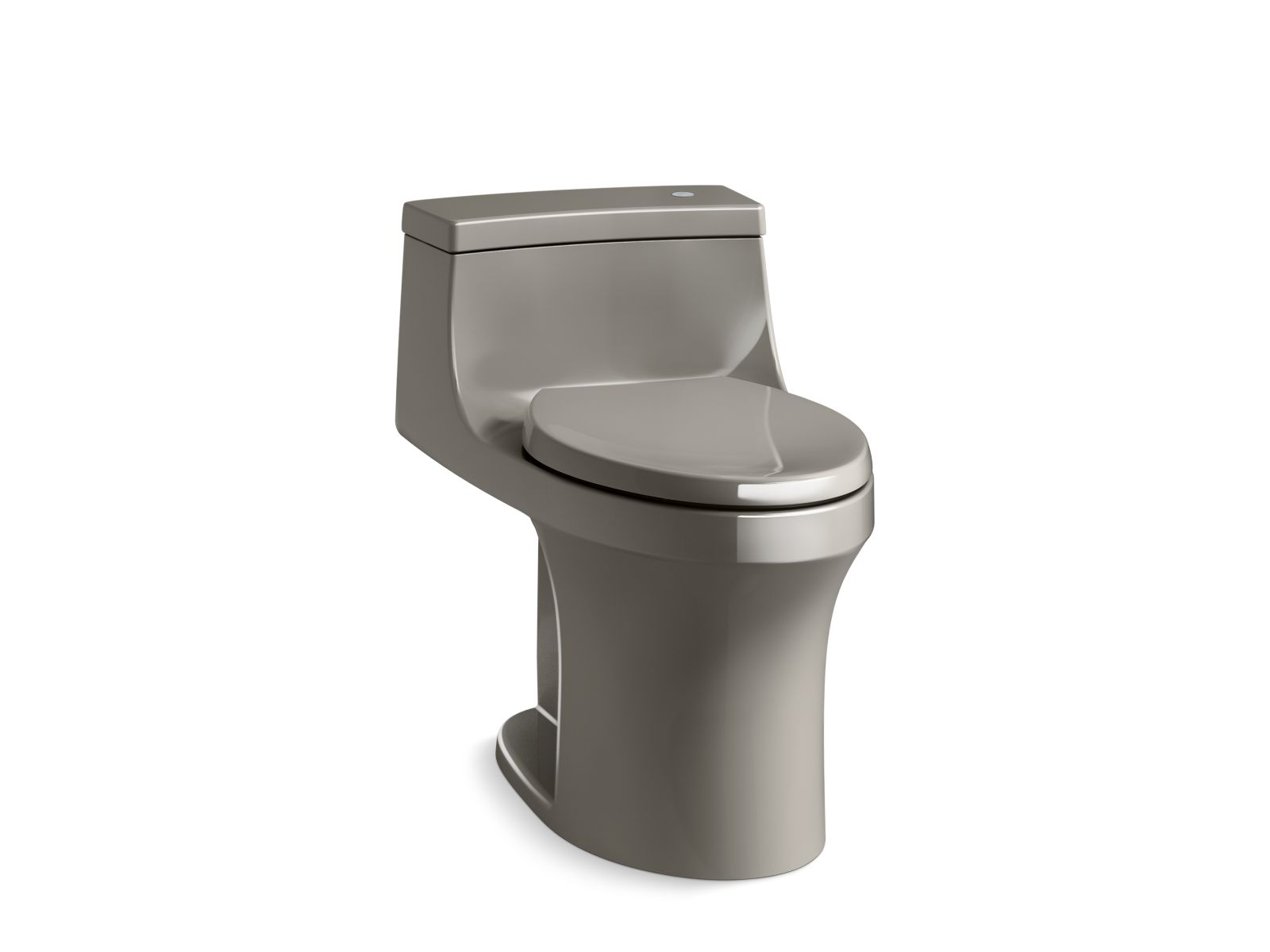 Kohler San Souci™ K-4000-K4 Touchless Comfort Height® one-piece compact elongated 1.28 gpf toilet with AquaPiston® flushing technology Cashmere