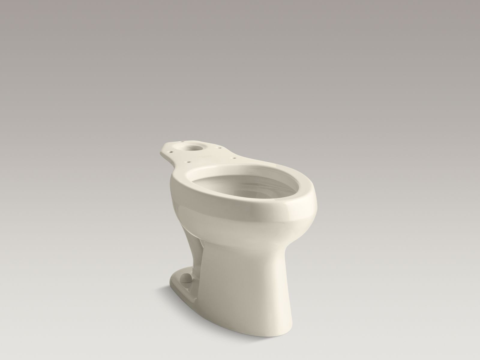 Kohler K-4303-47 Wellworth Elongated Toilet Bowl with Pressure Lite Technology Almond