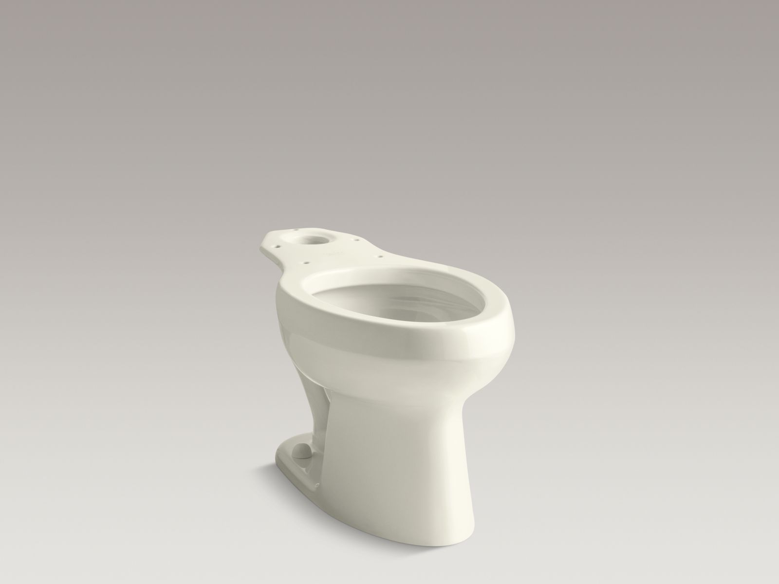 Kohler K-4303-96 Wellworth Elongated Toilet Bowl with Pressure Lite Technology Biscuit